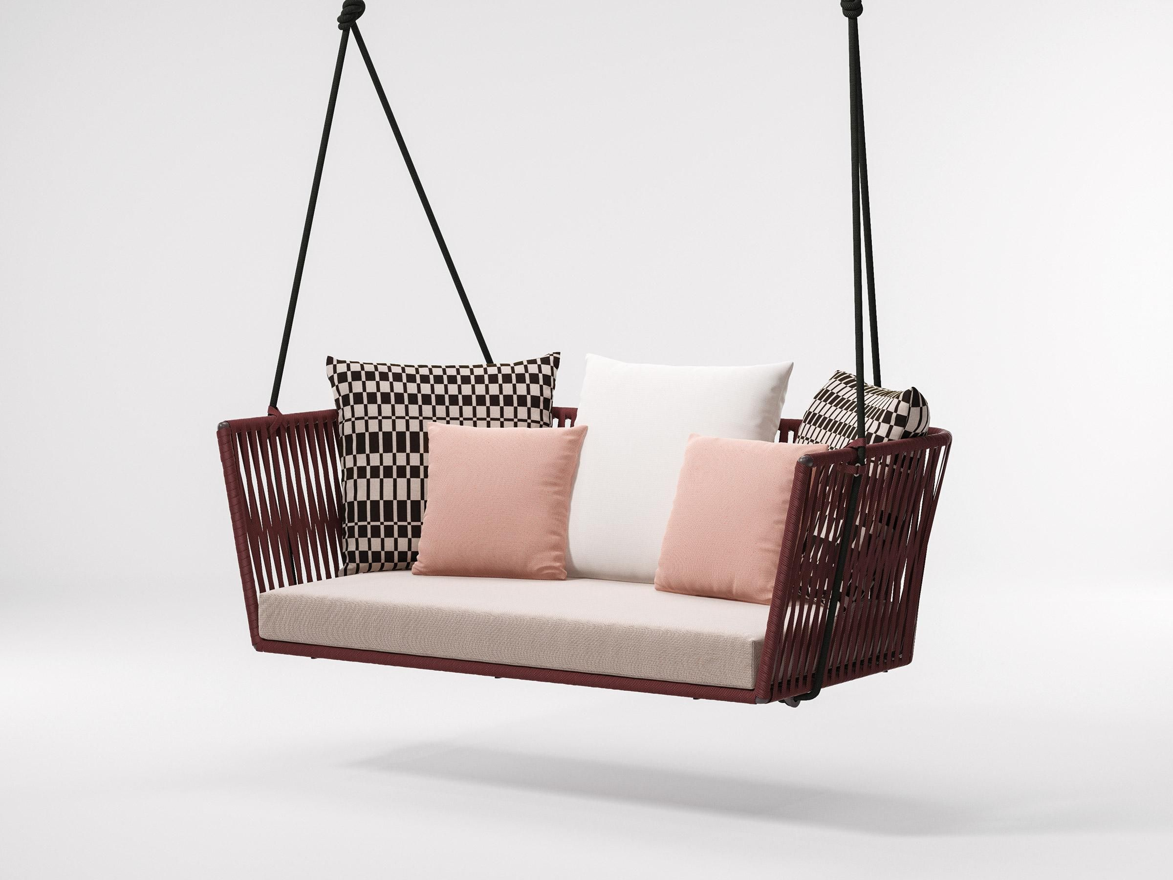 Kettal Bitta Swing Sofa Hanging Garden Chair Small Balcony Decor Hanging Chair Outdoor