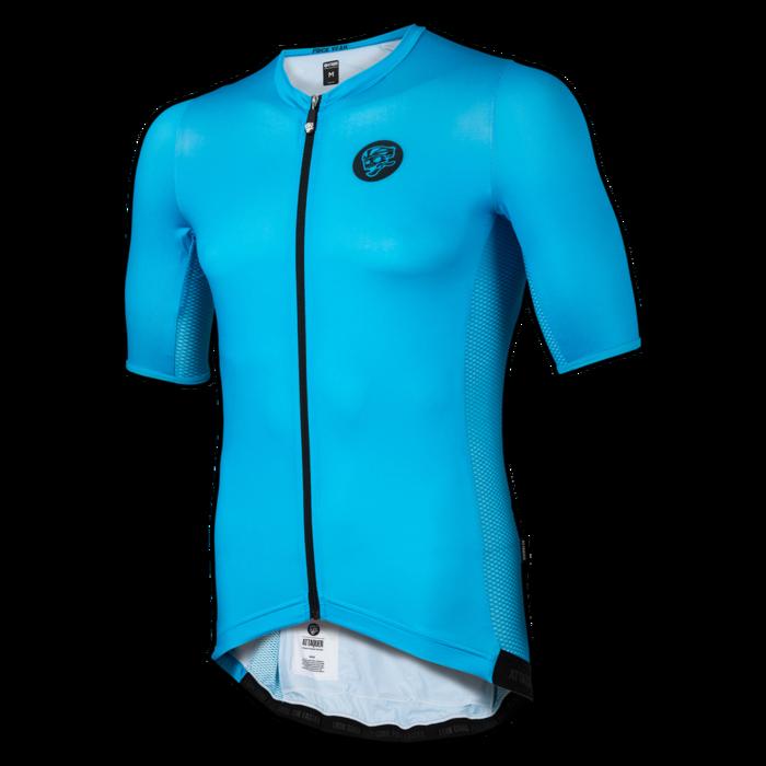 5b8541a69 Attaquer Race Cycling Jersey Cyan main