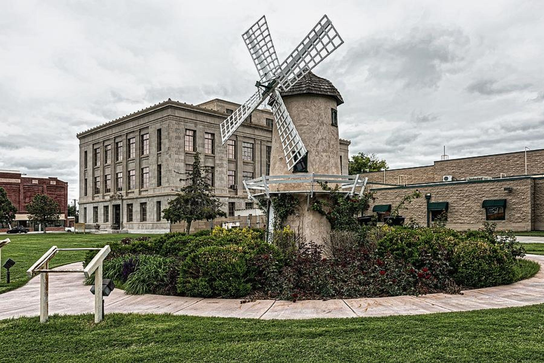 Prowers County Courthouse and Windmill (Lamar, Colorado ...