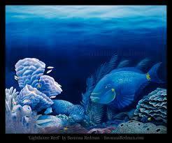 Resultado de imagem para Deep in the ocean paintings