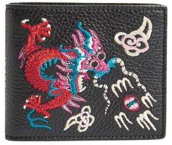 09d5b83f8bd Gucci Dragon Leather Wallet