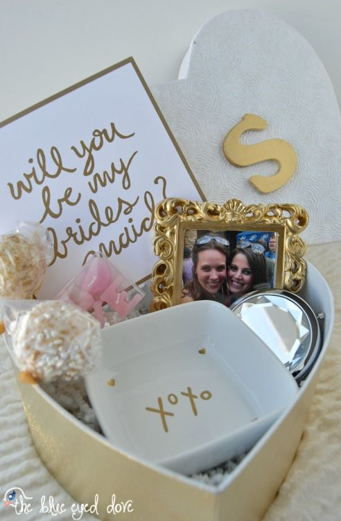 Will You Be My Bridesmaid? Gift Idea | Inexpensive gift, Easy and Gift