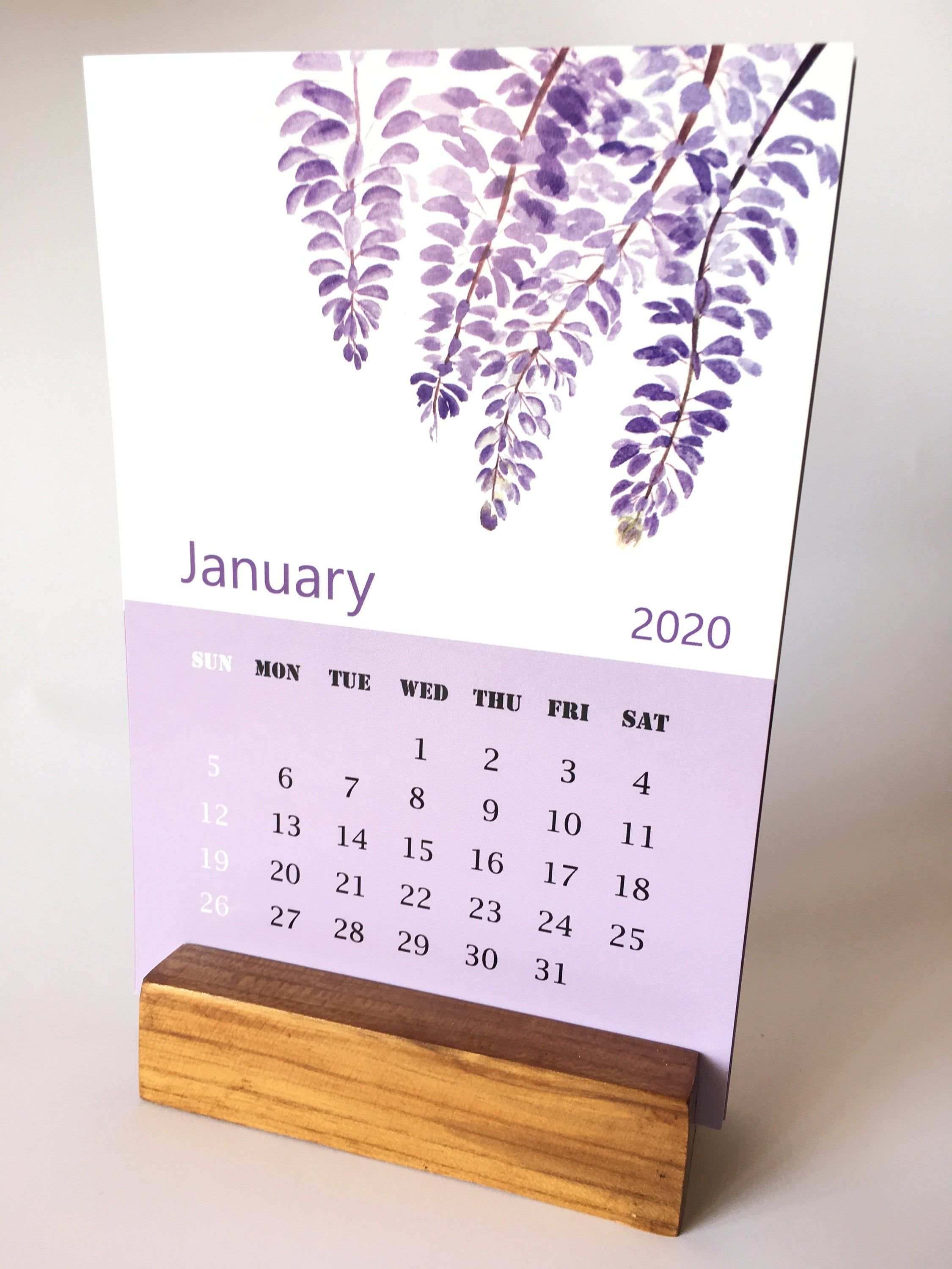 Mica 2021 Calendar Handmade Gold metallic watercolor  Non toxic metallic watercolors
