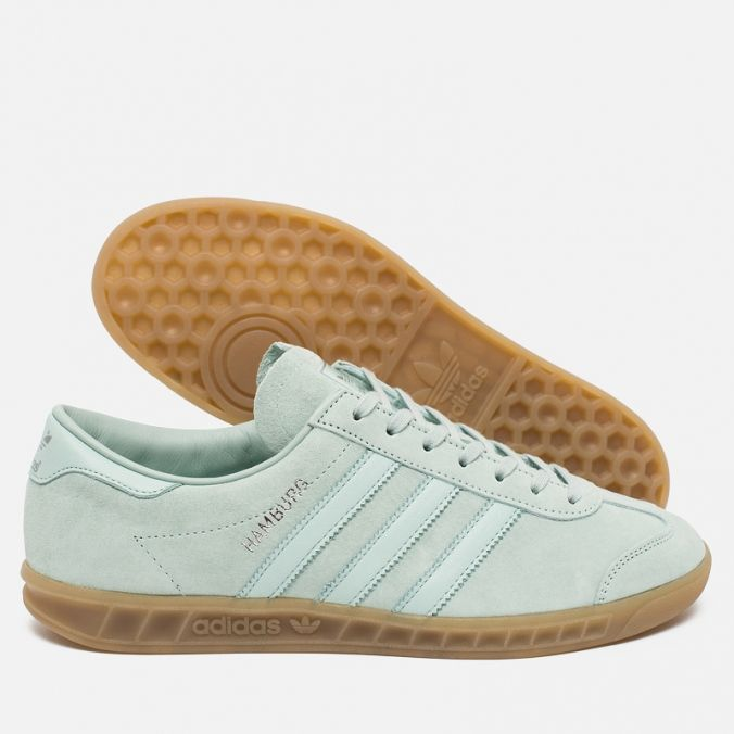 619291a07 Кроссовки adidas Originals Hamburg Vapour Green Ice Mint Gum. Article   S79986. Release  2016. Made in Myanmar.