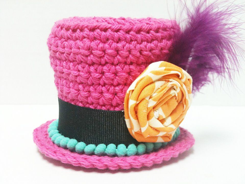 Mini Top Hat Crochet Pattern I Just Need The Hat I Can Do
