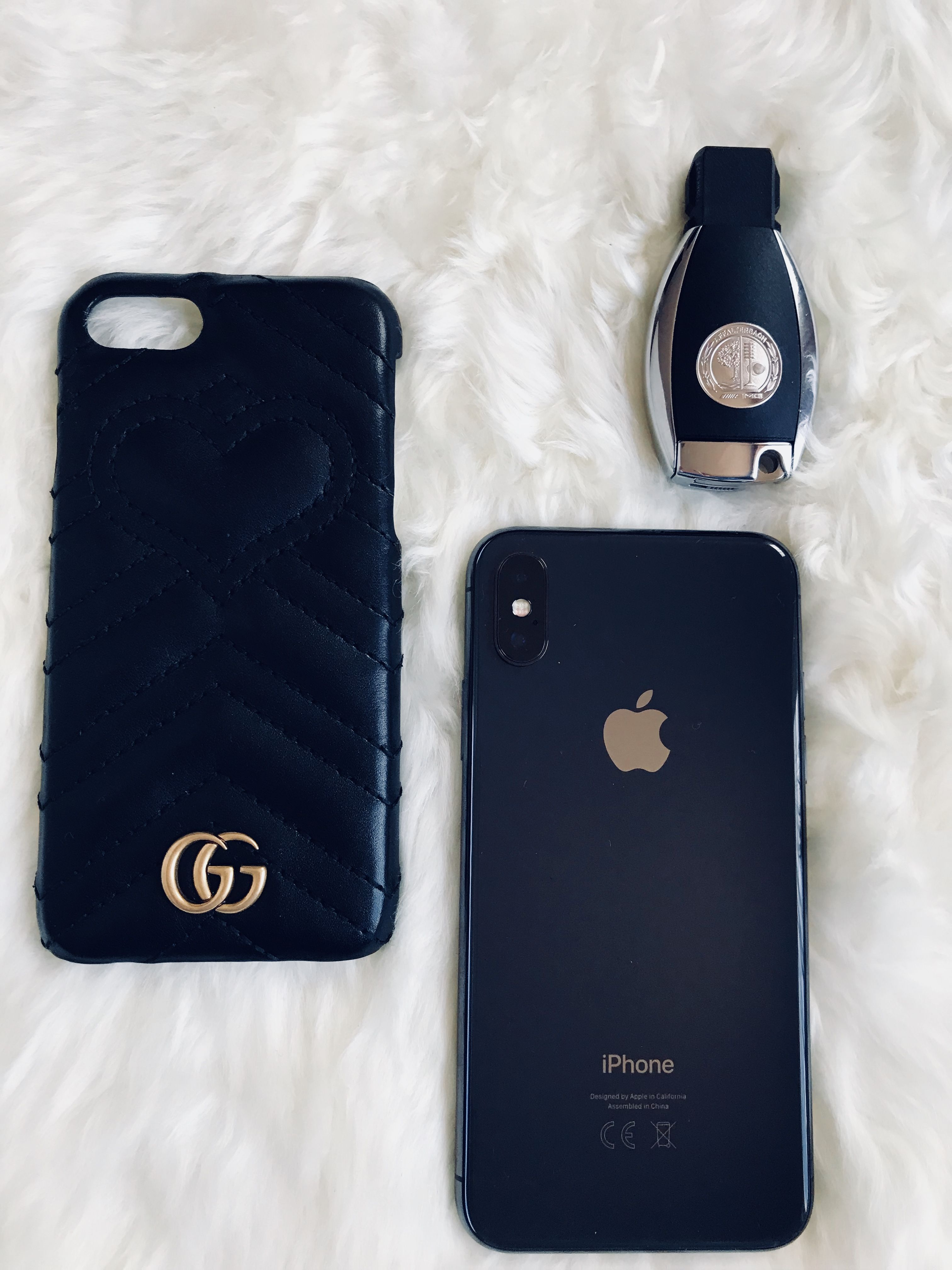 a76195295 Gucci phone case affalterbach key and iPhone X