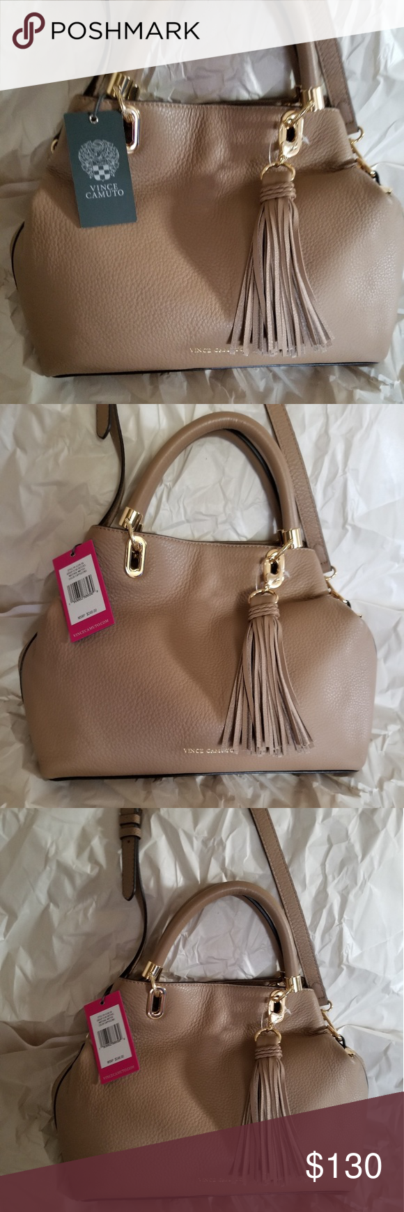 5a3dee2f7 Vince Camuto elva satchel New with tags and authentic Vince Camuto Bags  Satchels