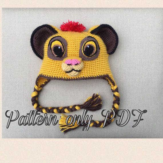 Cappello Leone, modello PDF | Pinterest | Gorros, Gorro tejido y Gaby