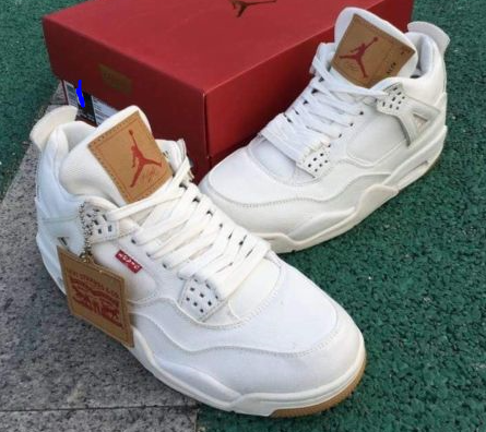 81274b99250 The Air Jordan 4 Levis White Denim is dropping on June 30th in Men's and GS  sizes. The retail price will be $225 for Men, and $200 for GS. Who's  Copping???
