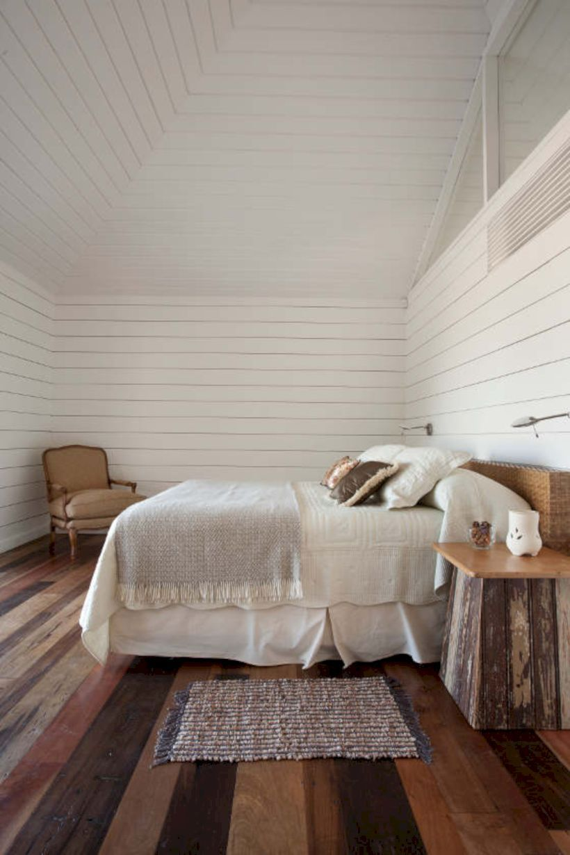 55 Rustic Bedrooms Ideas With Wooden Panel