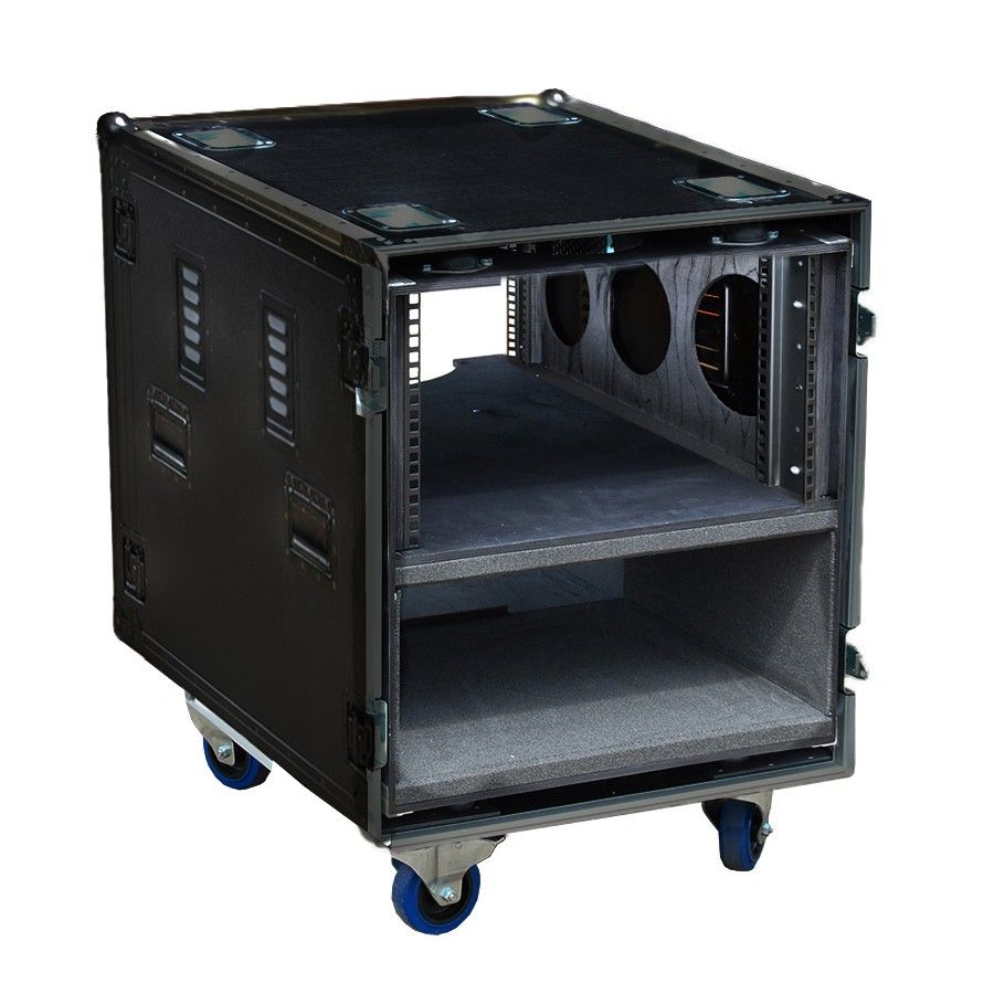 12u Rack Case 570mm Deep 12u Rack Portable Stage Rack