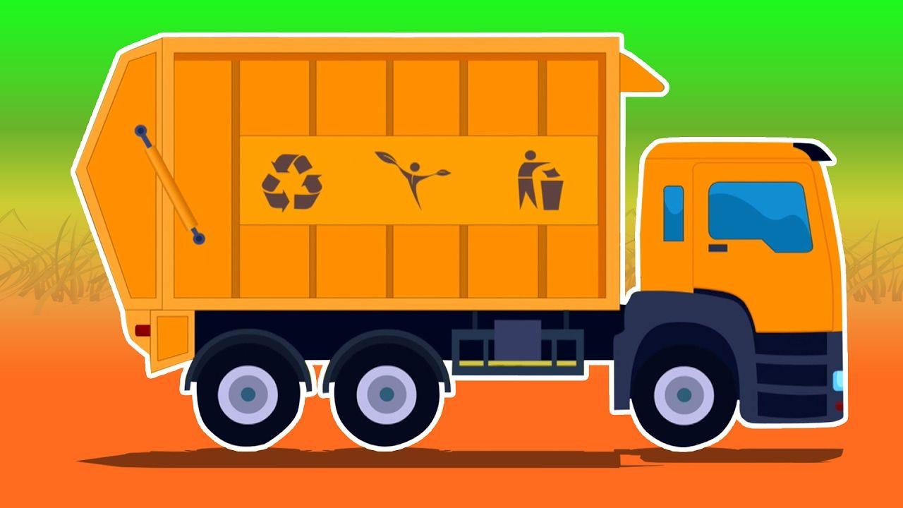 garbage truck car wash video truck garage vehicles for kids kids