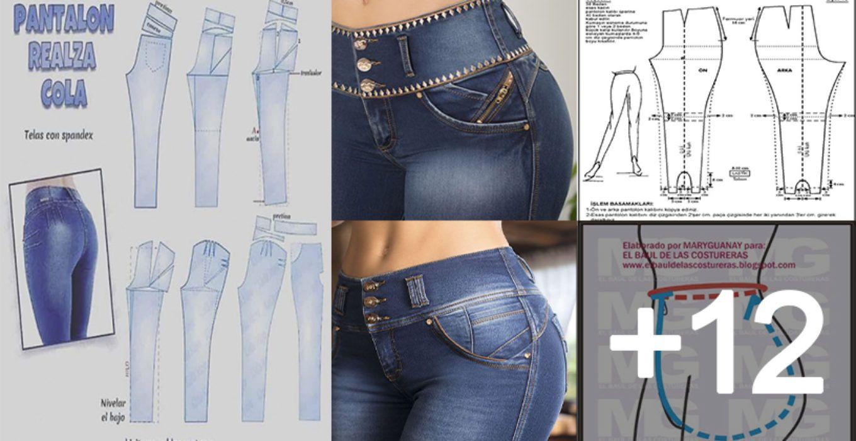 Aprende Hacer Pantalones Levanta Cola Con Patrones Fashion Clothes Women