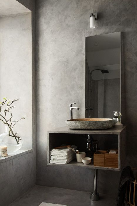 Photo of COCOON contemporary bathroom inspiration bycocoon.com | grey | modern inox stain…