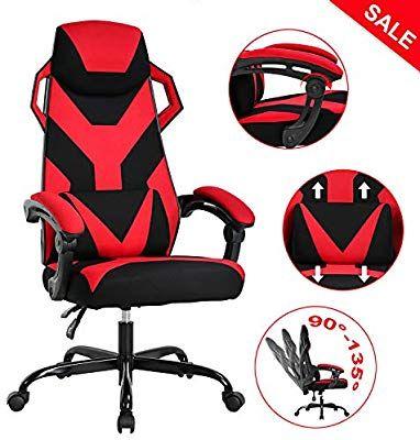 Amazon.com: PC Gaming Chair Ergonomic Office Chair Desk ...