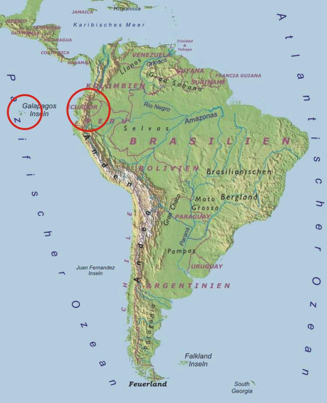 galapagos inseln karte Wo die Inseln sind | Galapados Inseln | Map und Diagram