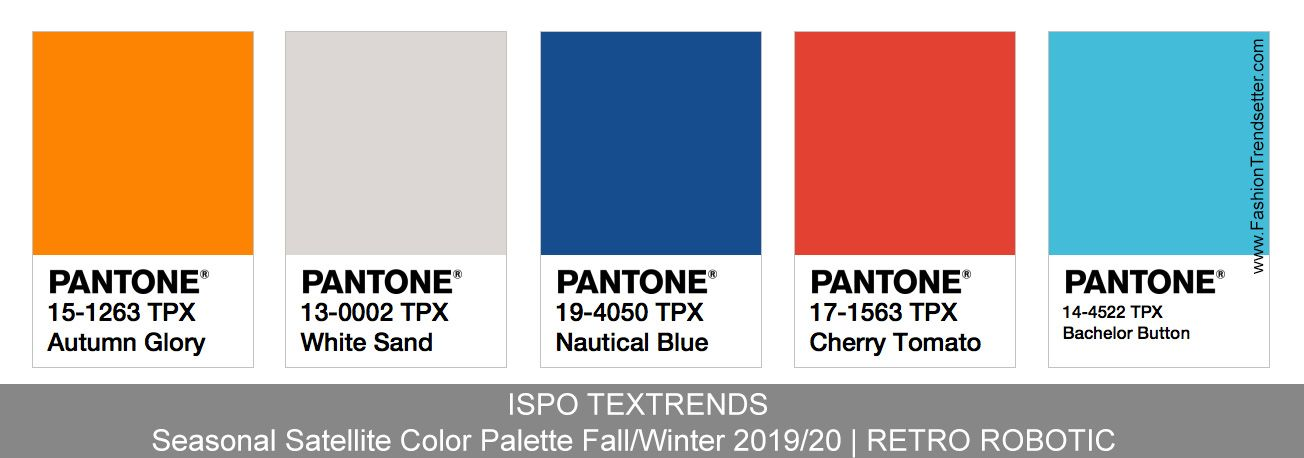 Ispo Textrends Color Trends Fall Winter 2019 20 Fashion Trendsetter Color Trends Fall Winter Fashion Trends Fall Winter
