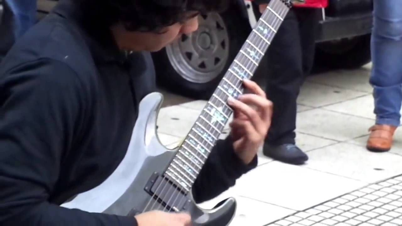 Amazing Guitar Performance In Buenos Aires Streets Damian Salazar