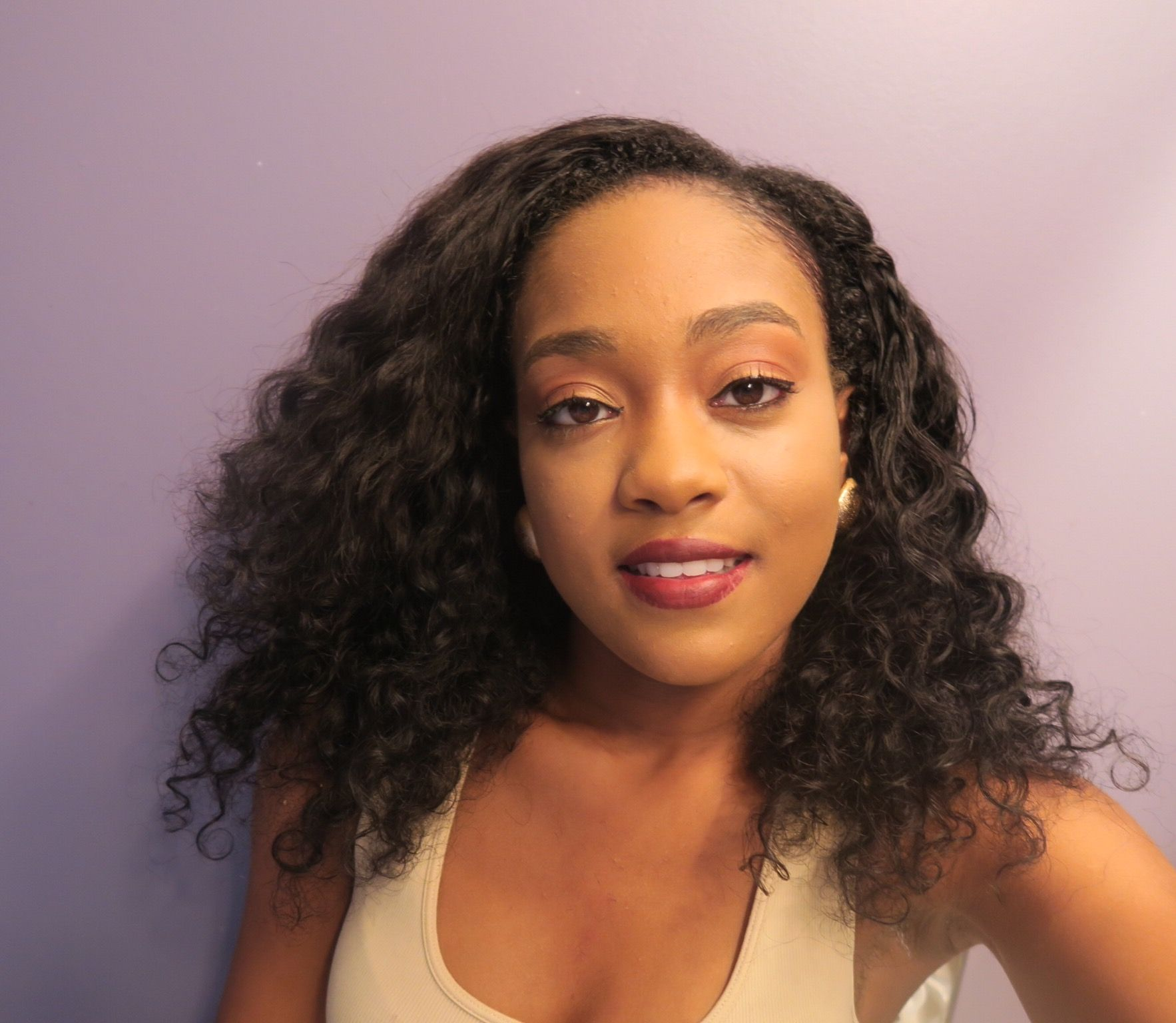 Brazilian curly beat face hair styles pinterest hair style