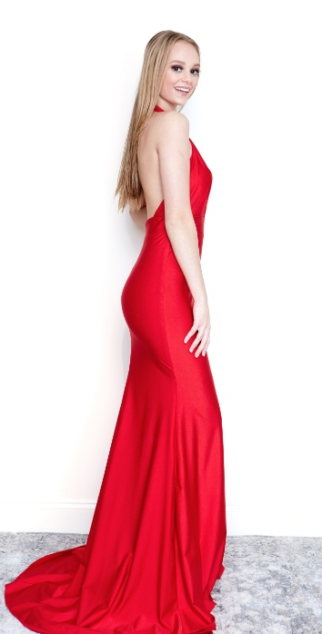81af718249 A perfect red dress ready for your next event! One of Atria s most  sophisticated designs! Simple and sexy! Now in stores and online - Lady  Black Tie  tight ...