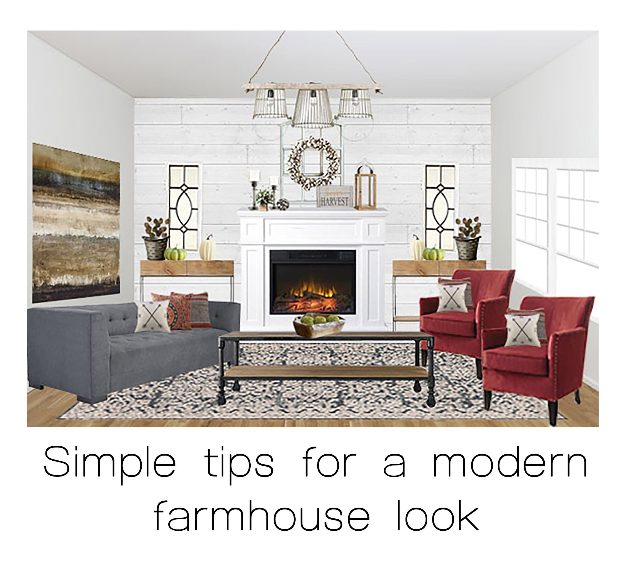3 simple tips for a modern farmhouse look  http://www.muse-interior-design.net/blog/2016/10/29/3-simple-tips-for-adding-farmhouse-style-to-your-home