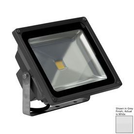 E Led Lighting 929 In 1 Head Led White Switch Controlled Flood