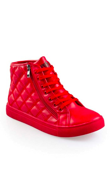 red high tops mens