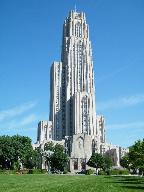 Chatham University Pa Program >> The Cathedral of Learning (Pittsburgh, PA, U.S.A.) - The ...