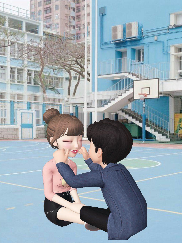 Zepeto Couple Lucu Gambar Profil Kartun