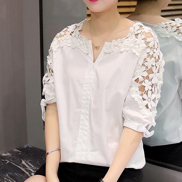 Camisa Plus Size Branca Estilosa