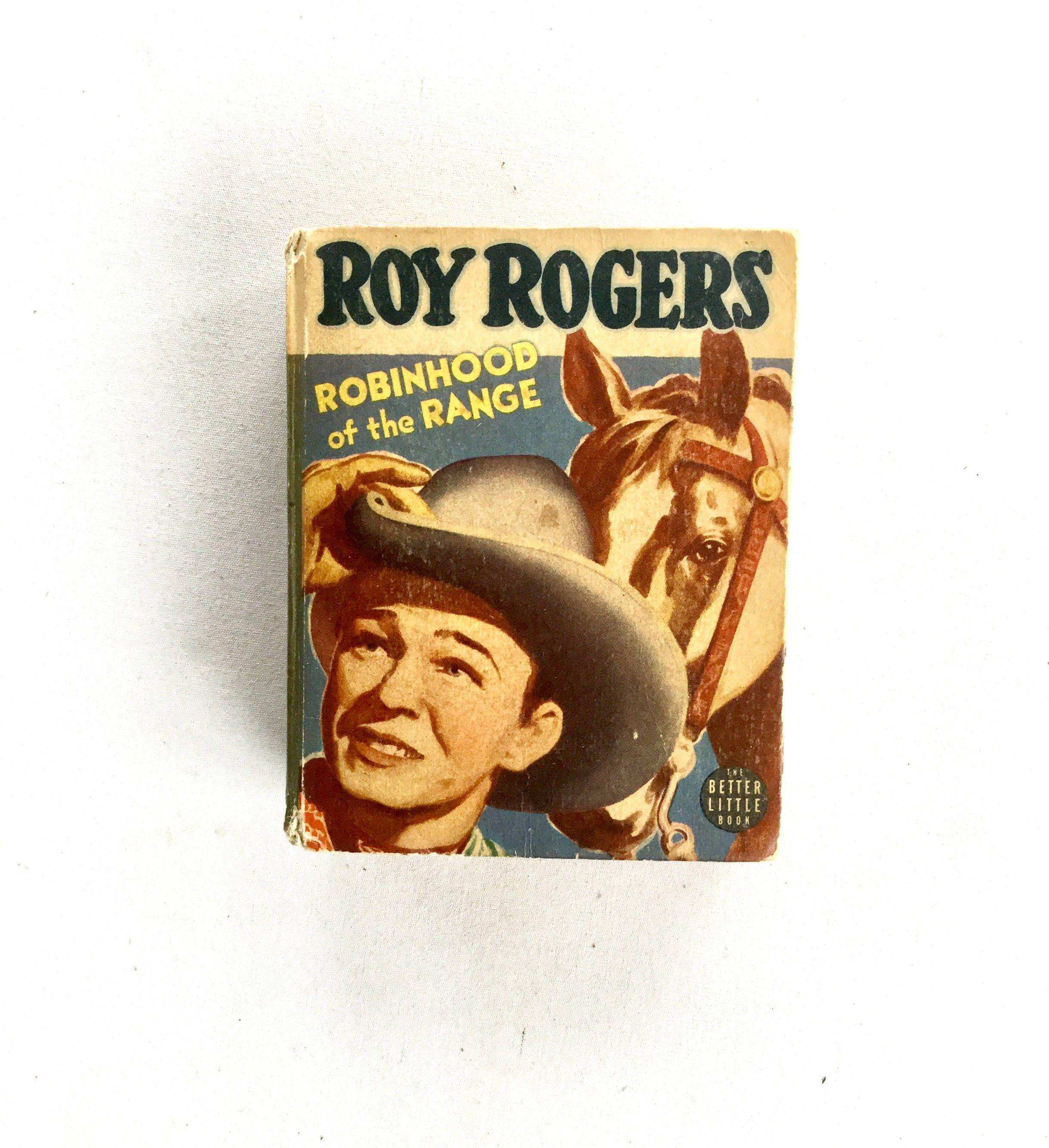 Big little book roy rogers robinhood of the range 1942 by