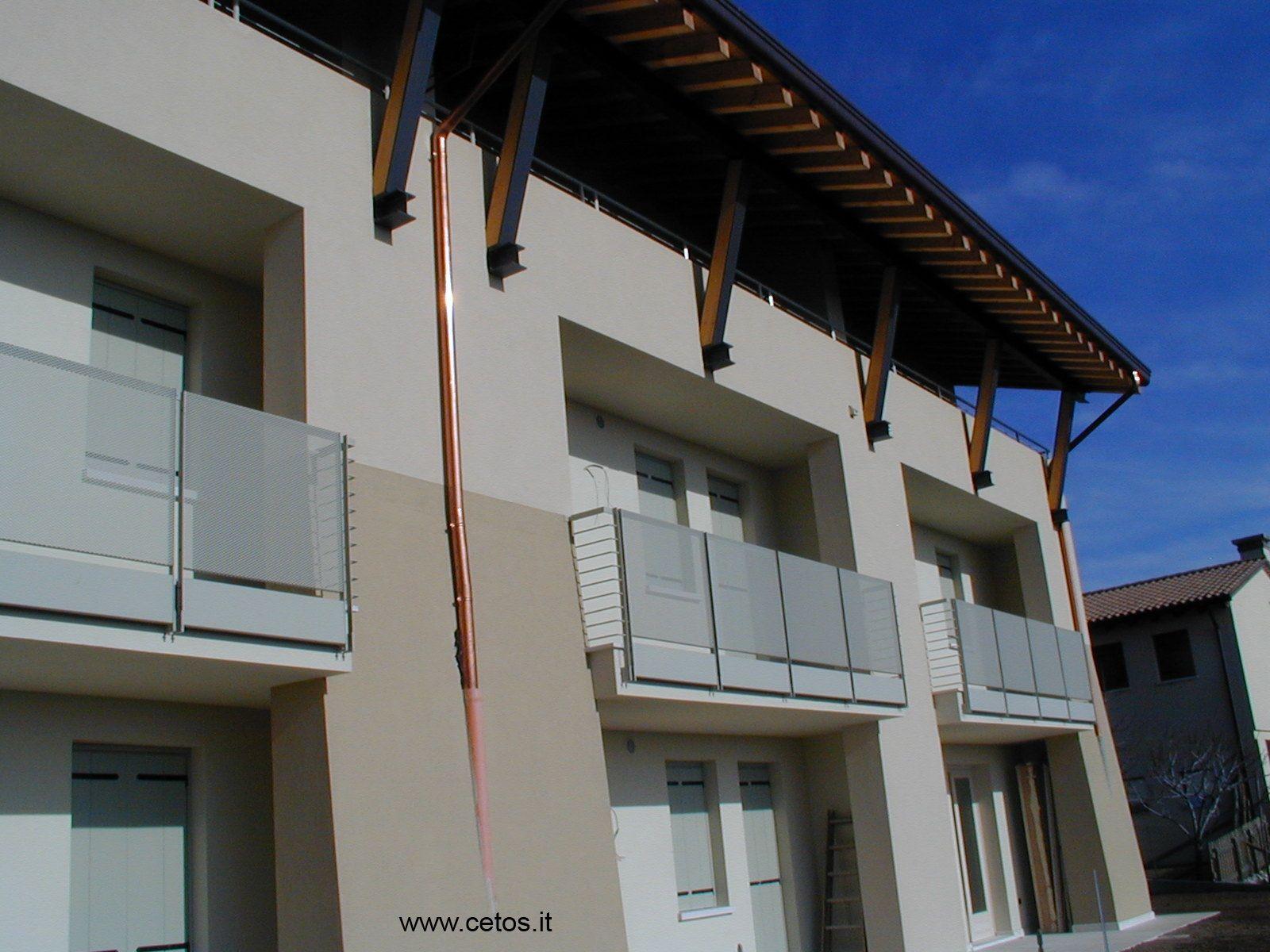 Parapetti per terrazze in acciaio inox | parapetti | Pinterest
