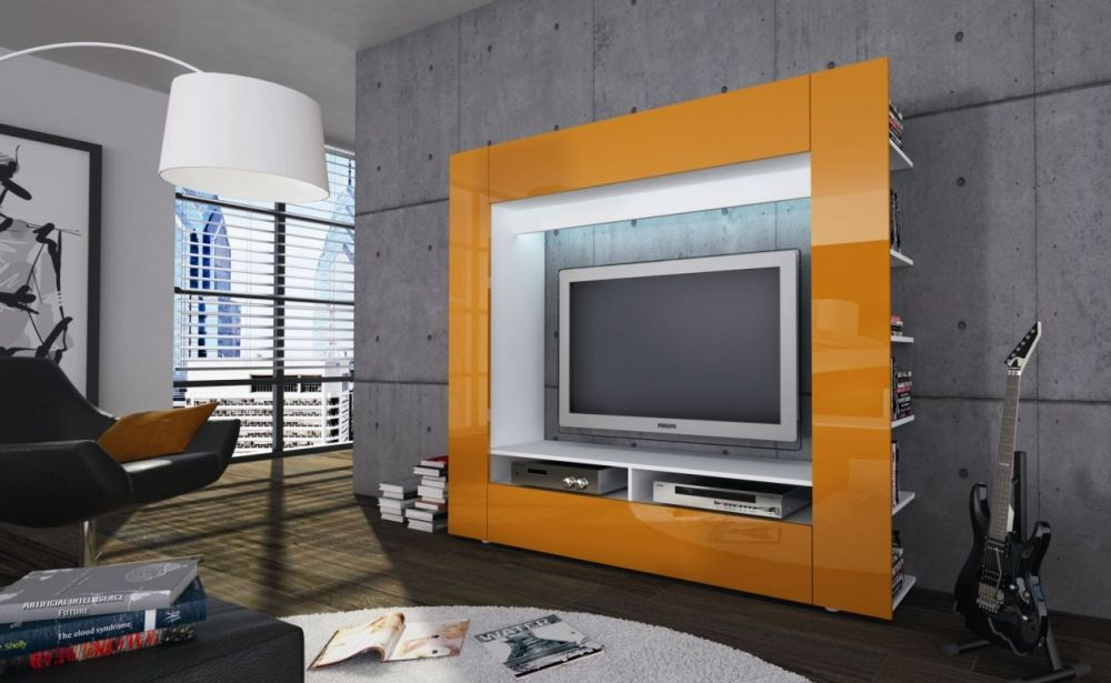 Orange and Modern on Pinterest