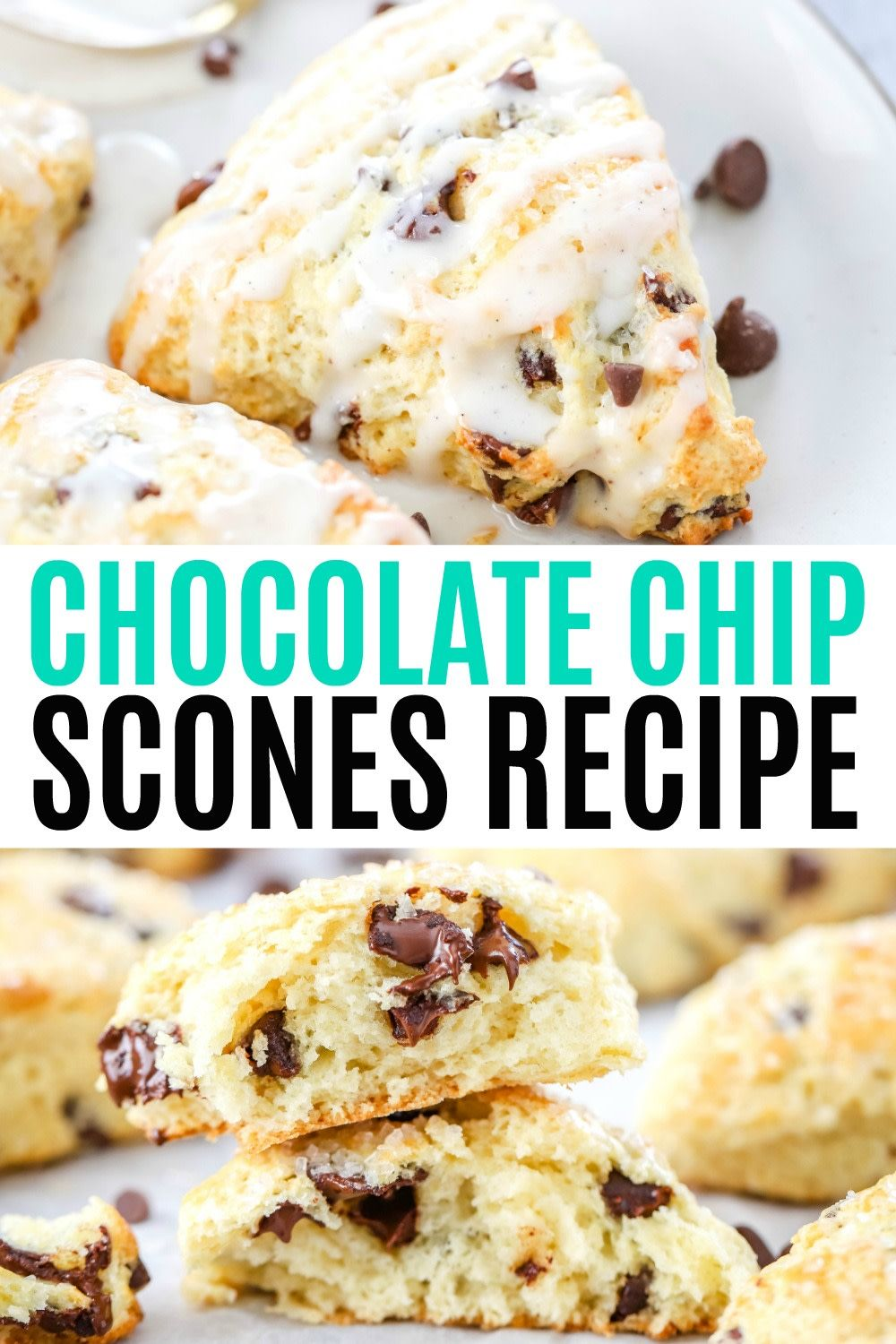 These Are The Perfect Chocolate Chip Scones Tender Buttery Studded With Chocolate Chips An Chocolate Scones Recipe Scones Chocolate Chips Buttermilk Recipes