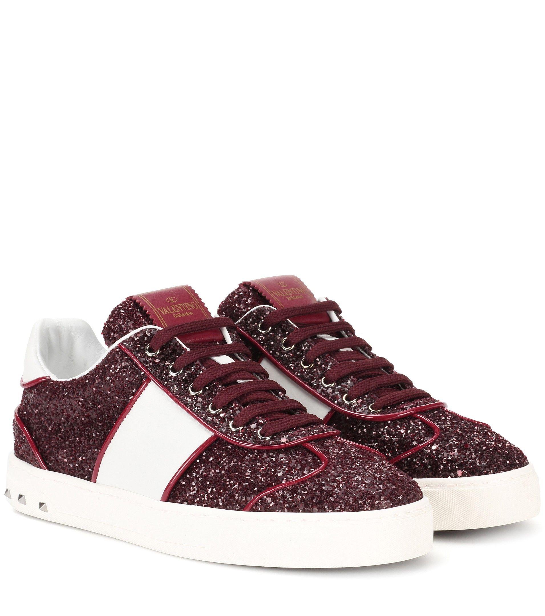 Glitter sneakers, Valentino