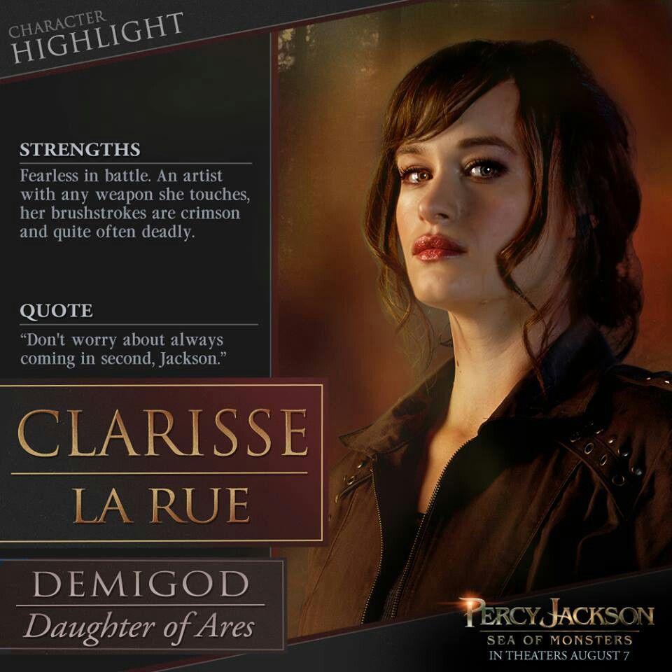 Clarisse La Rue Percy Jackson Sea Of Monsters Percy