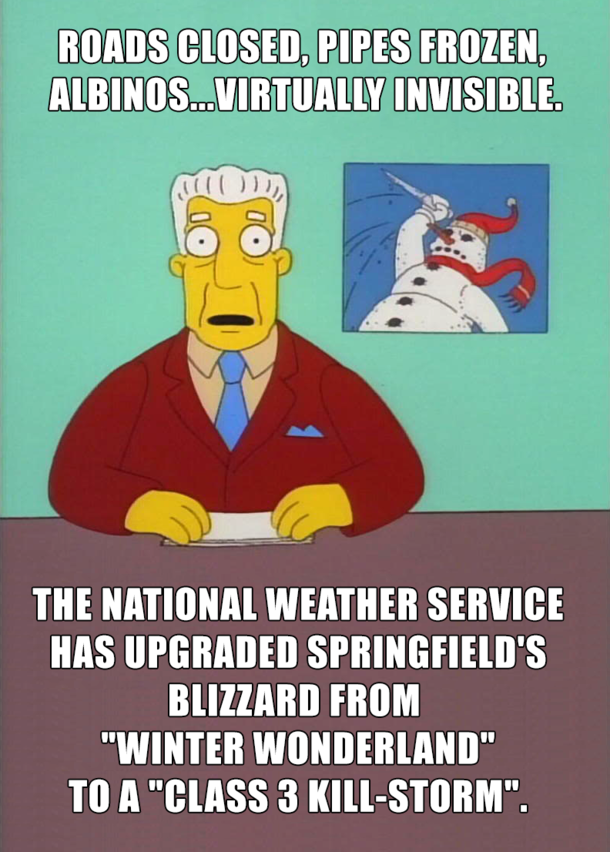 Funny Winter Storm Memes