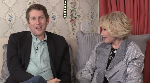 Joan Rivers Talks to Comedy Bang! Bang!'s Scott Aukerman on #InBedWithJoan