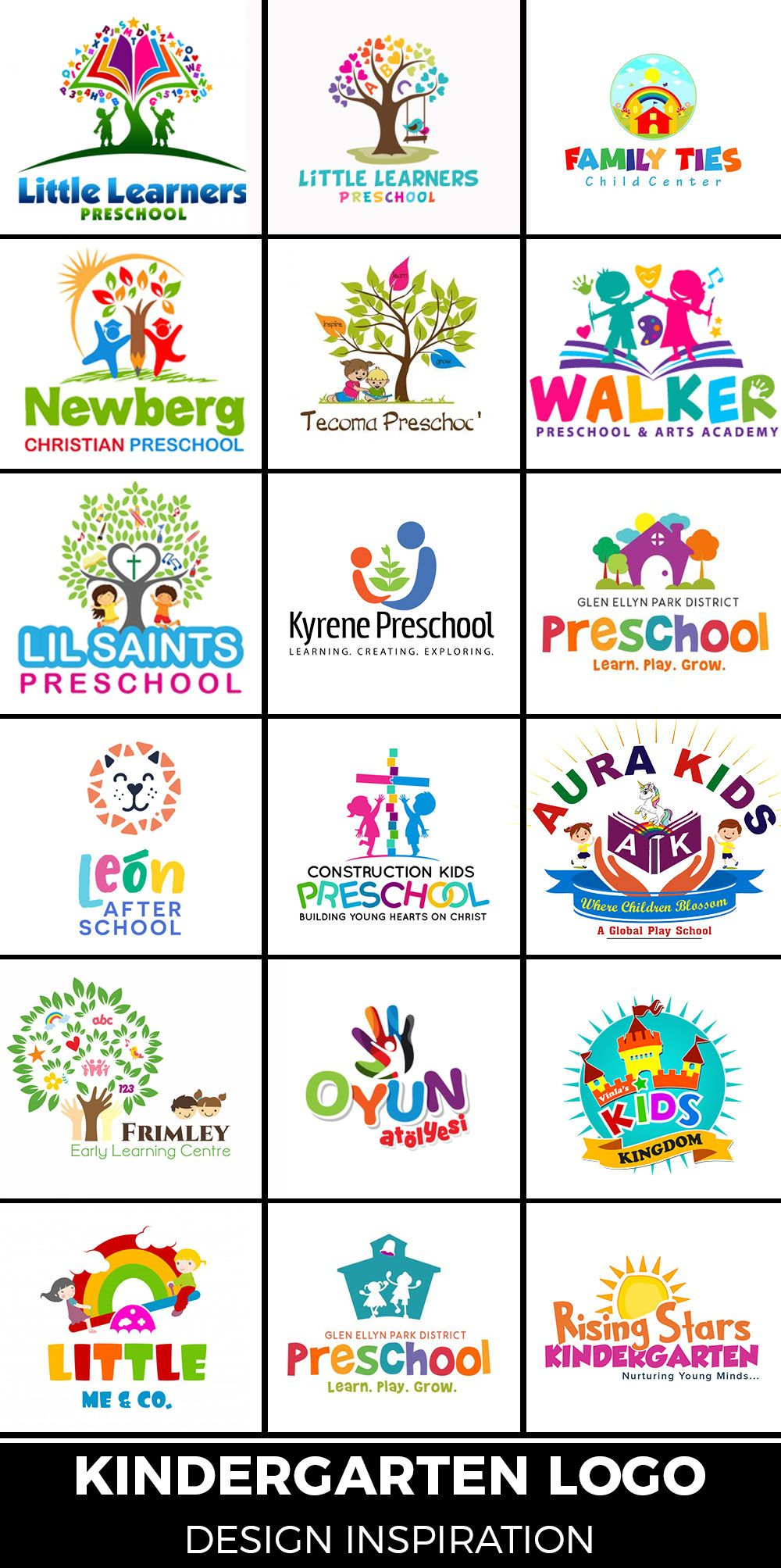 54 Creative Education Logo Designs For Inspiration 2020 In 2020