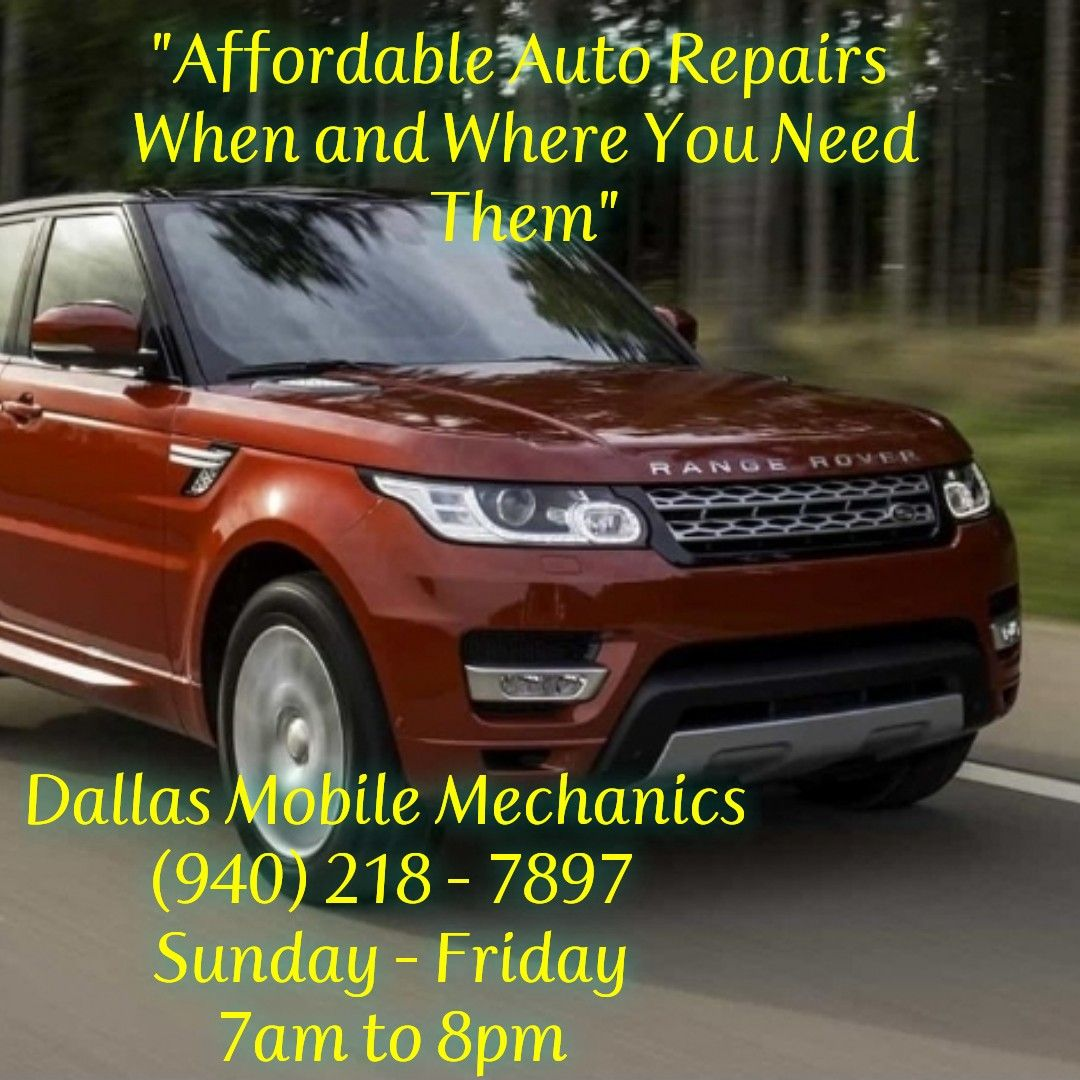 Brand Awareness Mobile auto repair, Mobile mechanic