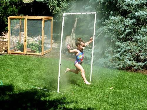 PVC Sprinkler Water Toy