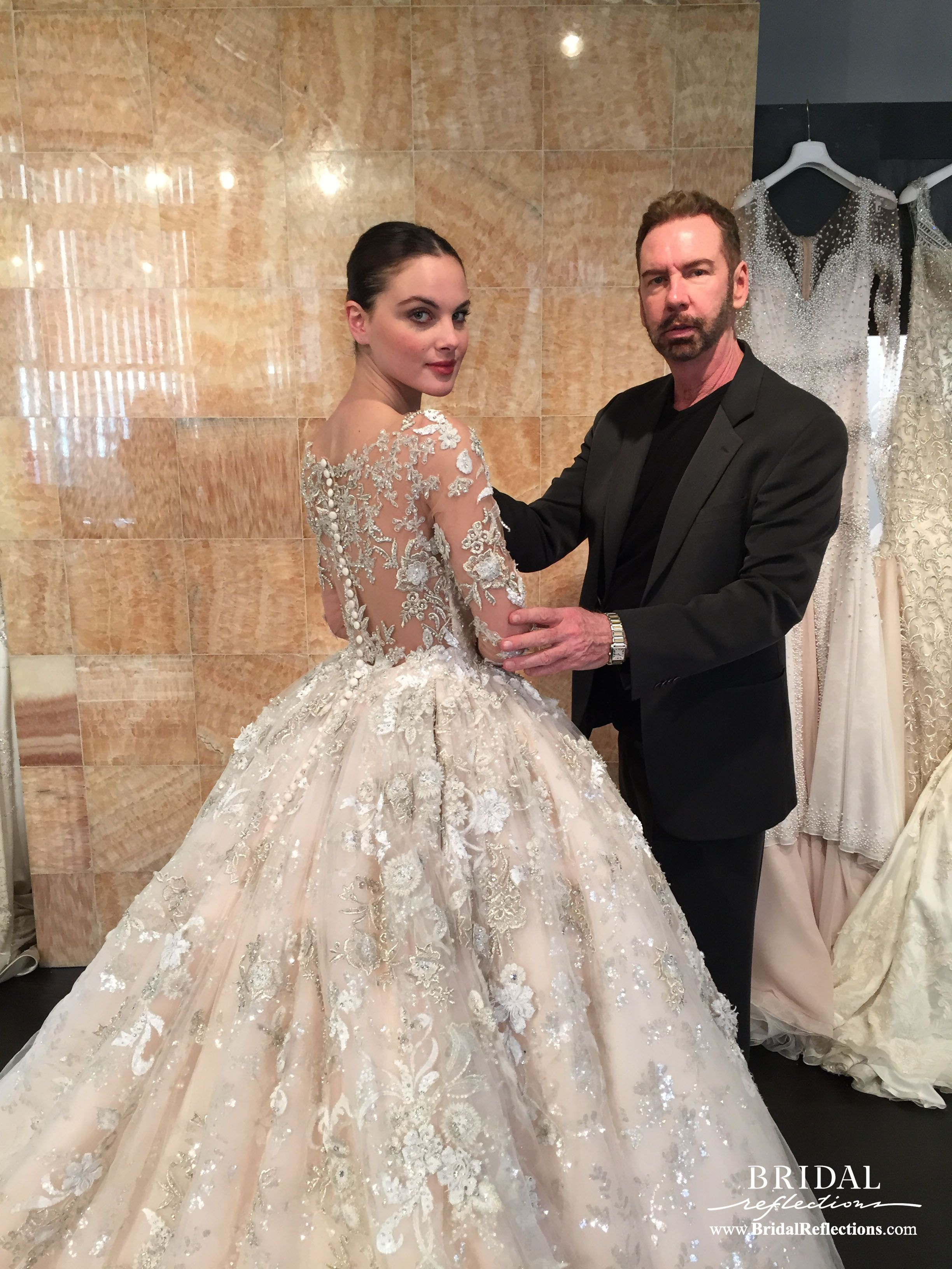 Stephen yearicks wedding dress creations and designs are stephen yearicks wedding dress creations and designs are customized to guarantee appropriate fit for any body ombrellifo Gallery