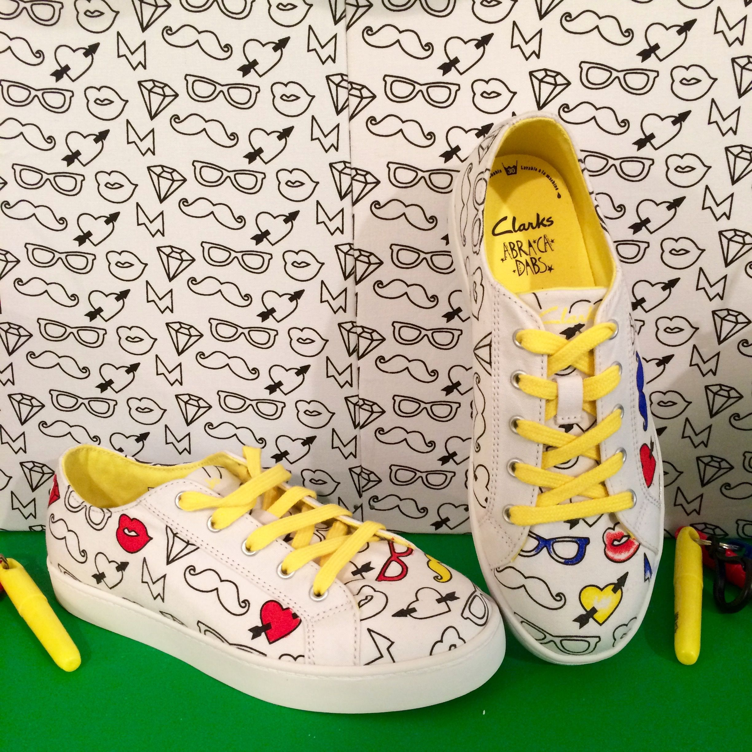 e2deb5239 Colour me in shoes at Clarks spring 2016 kids footwear preview