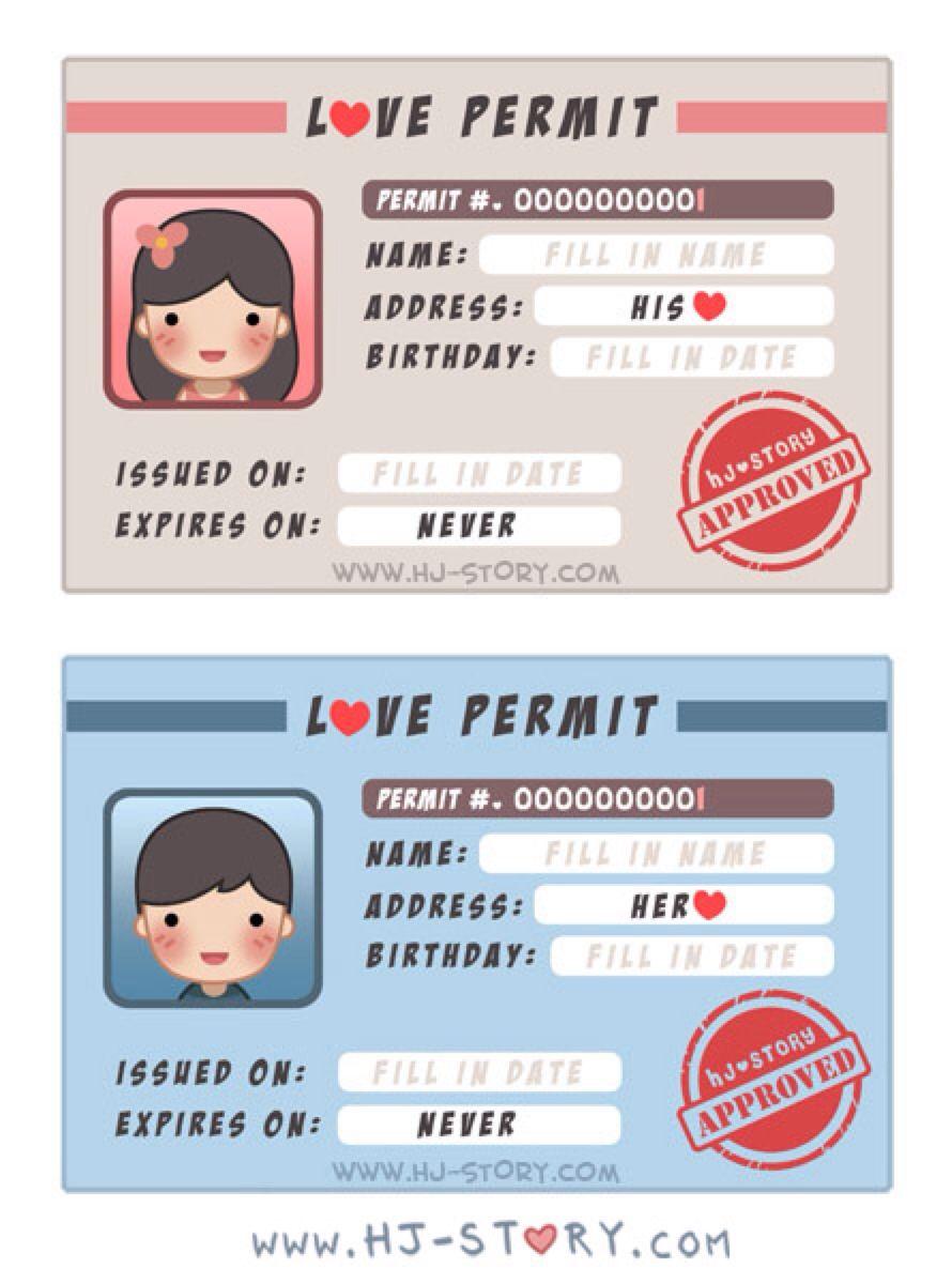 Story Love Story Cute Cartoons Permit~ Stories Hj