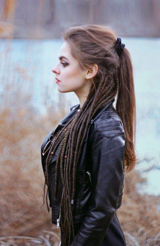 Impresionante peinados rastas Galería de cortes de pelo Consejos - Pin de MARTA G en Fryzury | Rastas mujer, Trenzas rastas ...