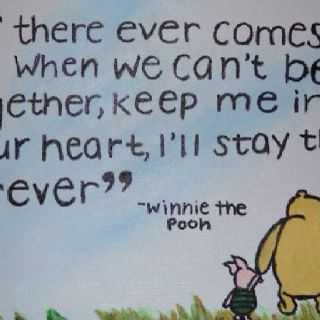 If There Ever Comes A Time When We Can T Be Together Keep Me In