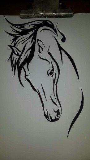 Tribal Horse Drawings I Have Done Pinterest Tattoos Tribal