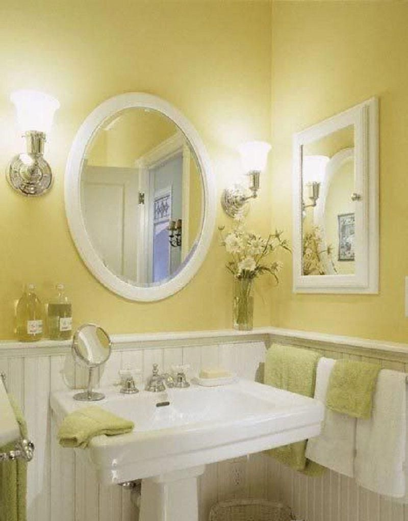 Best Paint Color For Small Windowless Bathroom