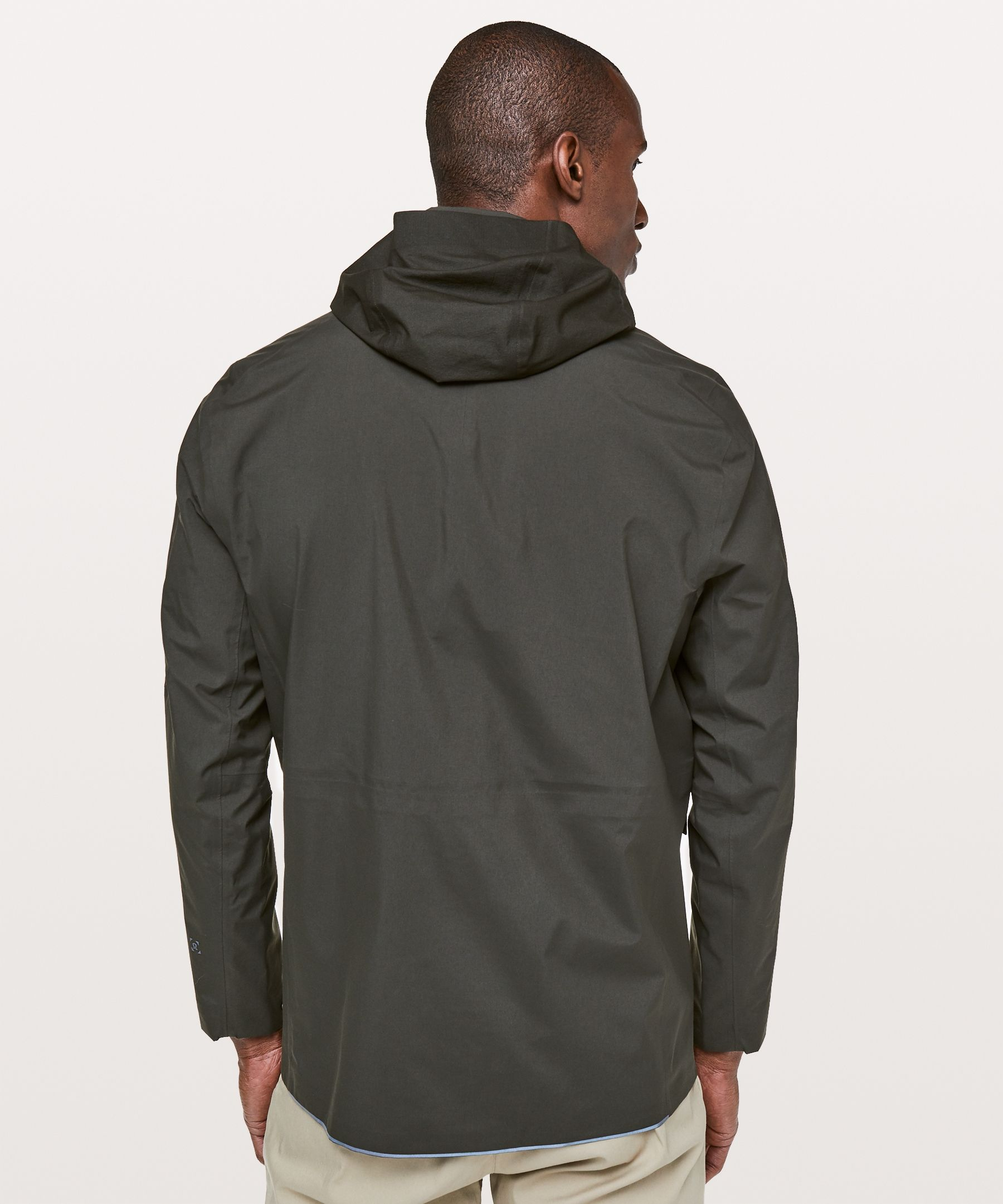 lululemon Men's Storm Field Jacket, Dark Olive, Size M 9