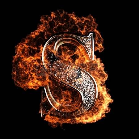 Burning Letter Made In 3d Graphics Photo Lettering Design Poster Background Design Picture Letters Free fire 3d name wallpaper